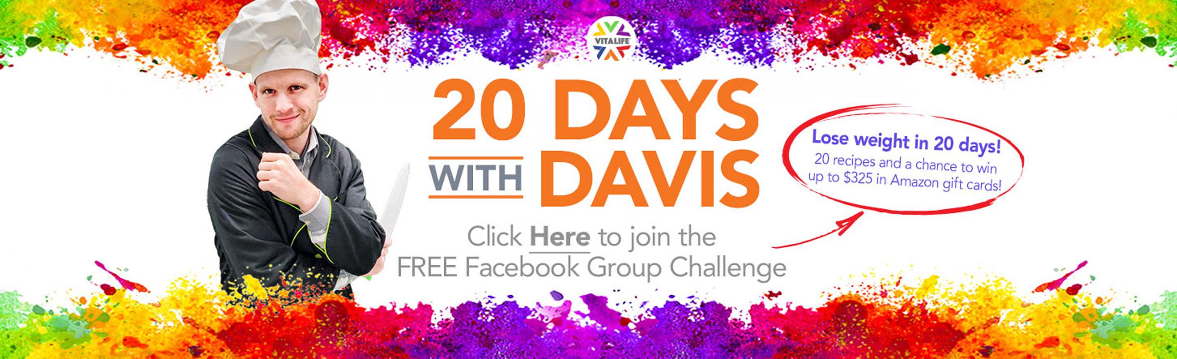 20 Days With Davis Jaspers